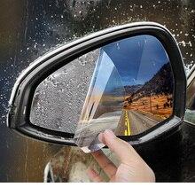 Lsrtw2017 Nano Car Window Rearview Rain Shda Film for Audi A4 A5 A6 Q3 Q5 A3 Q7 Accessories