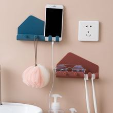 Shelf Storage-Box Key-Hanger-Holder Picture-Organizer Bedroom Wall-Mounted Hook-Rack
