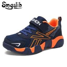 Chaussures de Sport pour enfants, basket de course en maille de cuir pour enfants, printemps et automne, 2018, entraîneur dadolescentes