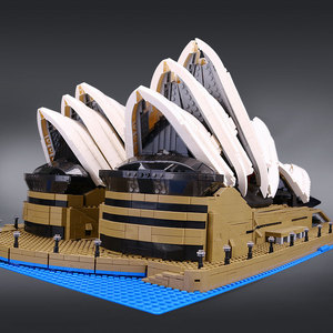Image 2 - 88003 Expert Set Creator Sydney Opera House Compatible 10234 Building Blocks Bricks Birthday Birthday Christmas Gifts Toys