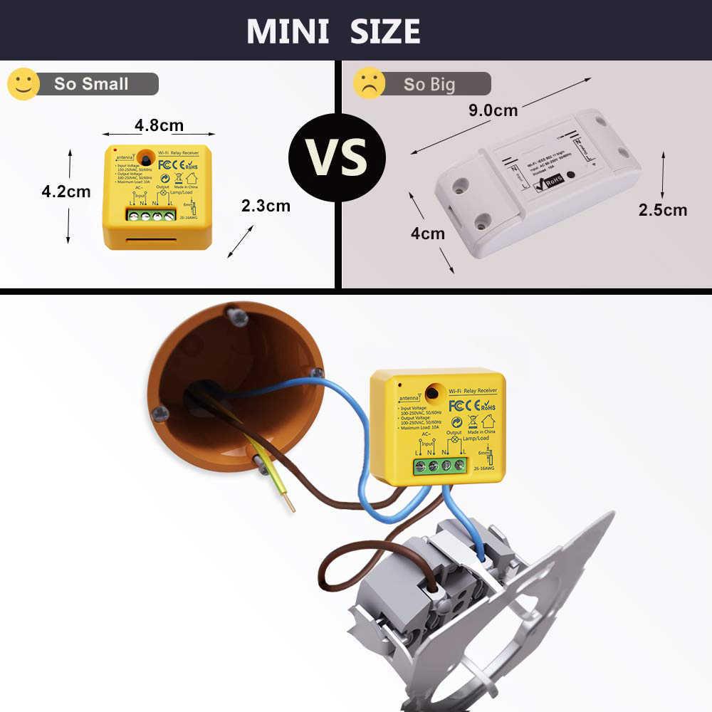 Tuya Kehidupan Cerdas Wifi Switch Socket Relay Modul Baru dengan Super Waktu Fungsi Google Home Alexa Echo DIY Smart Home otomatisasi