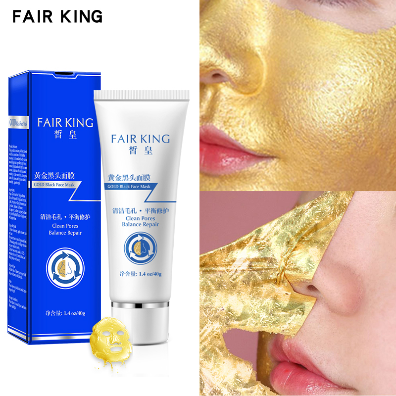 Tea Tree Gold Blackhead Mask Peel Off  Purifying Blackhead Remover Mask Deep Cleansing for Acne Scars Blemishes Wrinkles Facial