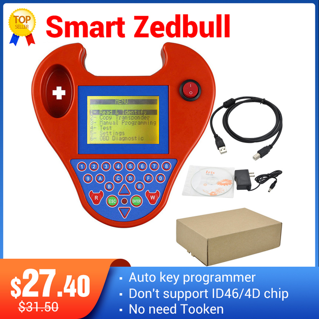 2020 최신 버전 V508 슈퍼 미니 ZedBull 스마트 Zed Bull 키 트랜스 폰더 프로그래머 미니 ZED BULL 키 프로그래머 재고 있음