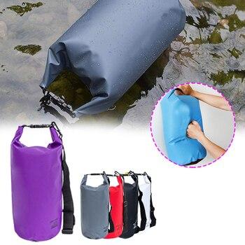 цена на 20L Outdoor Dry Waterproof Bag Pack Sack Waterproof Floating Dry Gear Bags For Boating Fishing Rafting Swimming Kayaking River