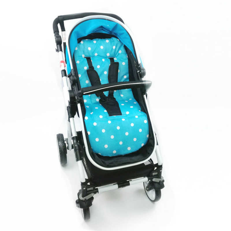 Winter Baby Stroller Seat Cushion Kids Pushchair Car Cart High Chair Seat Trolley Soft Mattress Baby Stroller Pad Accessories