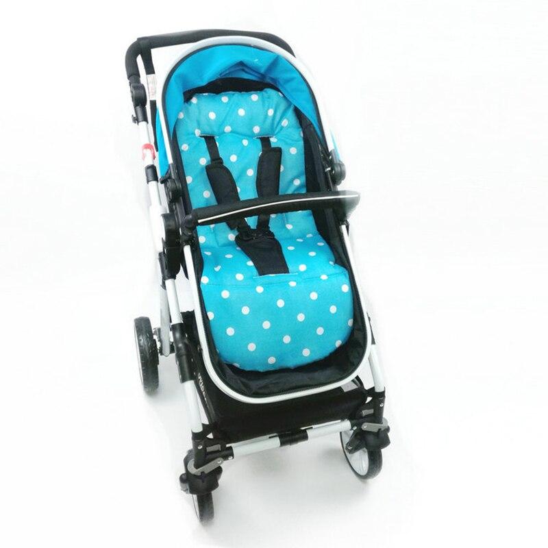 Winter Baby Stroller Seat Cushion Kids Pushchair Car Cart High Chair Seat Trolley Soft Mattress Baby Stroller Pad Accessories