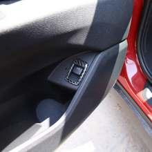 Мягкая карбоновая Внутренняя дверь переключатель рамка кнопка