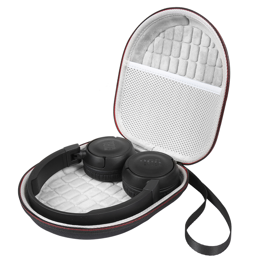 Luckynv Carrying Case For Jbl T450bt Jbl T500bt Over Ear Bluetooth Wireless Headphones Protective Bag Black Case Only Earphone Accessories Aliexpress