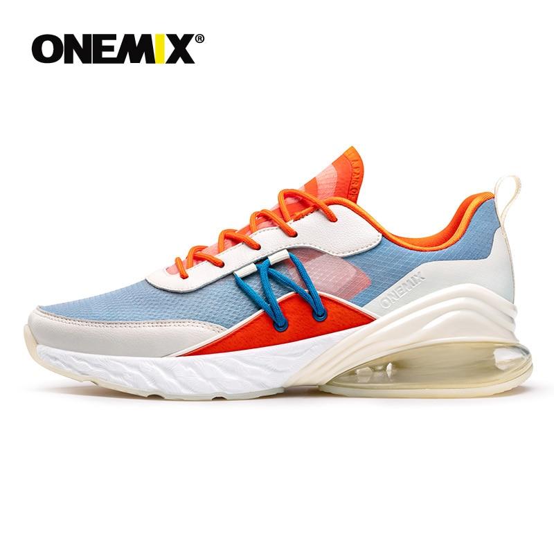 ONEMIX femmes baskets d'extérieur 2019 plate-forme souple Sport respirant Air chaussures fille léger tennis panier Badminton chaussures