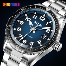SKMEI Automatic Mechanical Watch For Men Luxury Mens Mechanical Wristwatches Stainless Steel Top Brand Watches montre homme 9232