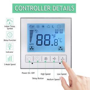 Image 3 - 6นิ้วจับเวลาExtractorพัดลมอินไลน์Smart Switch ControllerสำหรับHome KitchenระบายอากาศเรือนกระจกVentilator 220 ~ 240V