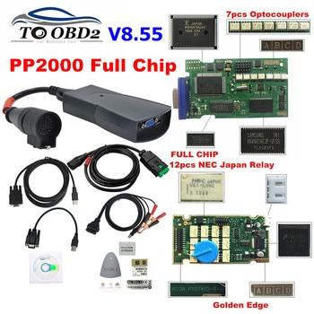 Free ship Full Chips Diagbox V8.55 V7.83 with 921815C Firmware Lexia3 PP2000 V48/V25 Lexia 3 For Citroen/Peugeot diagnostic tool 1