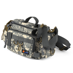 Image 2 - Fishing Gear Bag Multifunctional Fishing Tackle Bag Waist Bags Boat Bags Pouch Case for Fishing Gear Bags Fish Bag Rod