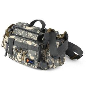 Image 2 - กระเป๋าเกียร์ตกปลาMultifunctionalกระเป๋าตกปลาเอวกระเป๋าเรือกระเป๋าสำหรับตกปลาเกียร์กระเป๋าถุงปลาRod