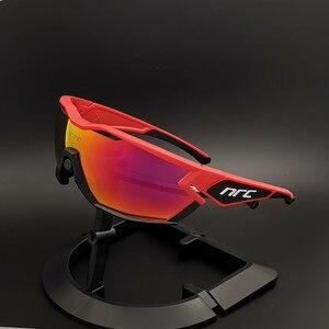 Поляризационные велосипедные очки с 3 линзами для мужчин и женщин, спортивные дорожные велосипедные очки, солнцезащитные очки для езды на в...