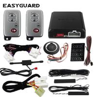 EASYGUARD plug and play CAN BUS kit fit for toyota keyless start stop pke car security system remote start kit for easy install
