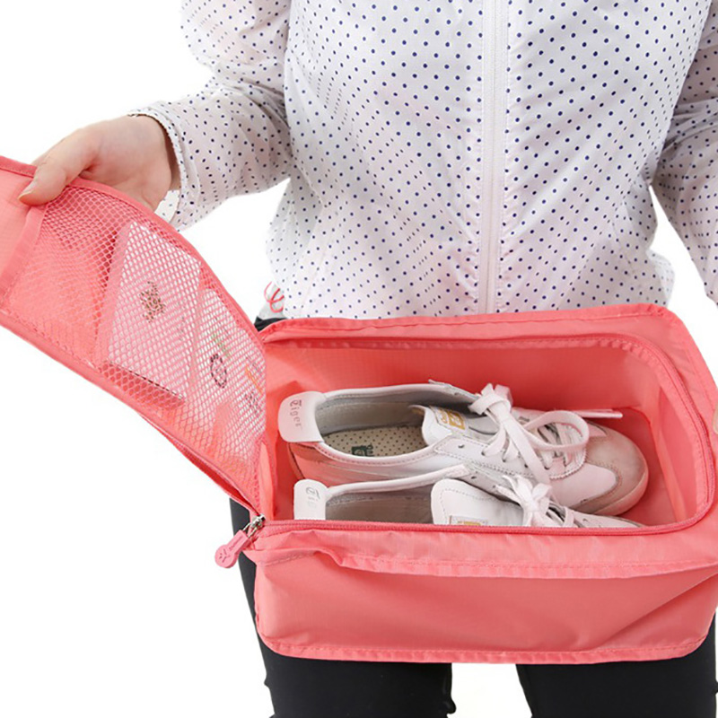 Portable Travel Storage Shoes Bag Waterproof Hanging Shoe Bag Organizer Shoe Sandals Carry Bag Protector Container