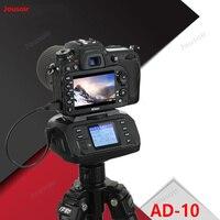 Portable AD 10 Automatic Tripod Head Electronic Camera 360 Degree Tripod Ballhead for C/ N/ S DSLR Camera CD50 T03