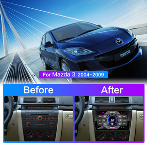 Image 3 - For Mazda 3 2004 2013 maxx axela android 9.0 Car DVD GPS Radio Stereo 1G 16G WIFI Free MAP Quad Core 2 din Car Multimedia Player