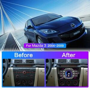 Image 3 - Para Mazda 3 2004 2013 maxx axela android 9,0 coche DVD GPS Radio estéreo 1G 16G WIFI mapa gratuito Quad Core coche 2 din reproductor Multimedia