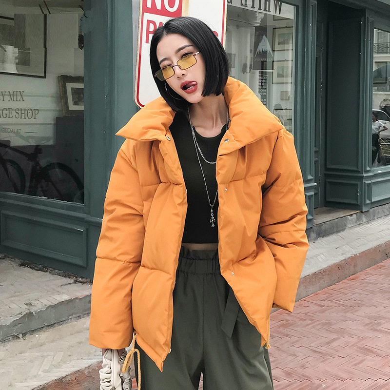 Winter Jacket Women Coat Snow Casual Oversize Woman Winter Coats and Puffer Jackets Padded Stand Collar   Parka   mujer 2019 Outwear