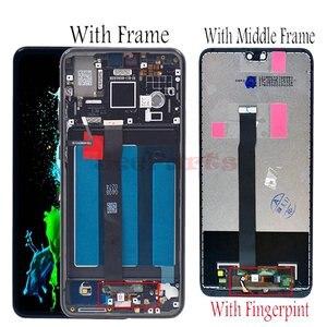 Image 2 - Dla Huawei P20 ekran LCD ekran dotykowy Digitizer zgromadzenie EML L29 L22 L09 AL00 dla Huawei P20 LCD z ramą części zamienne