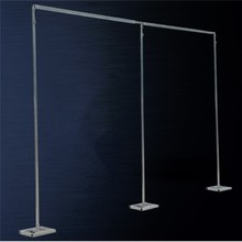 3M*6M Wedding Drapery Pipe Stand/Wedding Decor Piping frame for drape /Stainess Steel Wedding Backdrop Stand