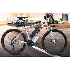 Image 5 - Smlro 48v 15A 350W 26 인치 모터 구동 전기 자전거 자전거 산악 차량 bicicleta electrica ebike
