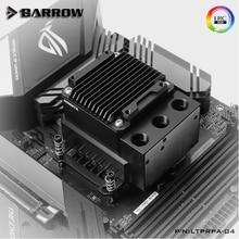Barrow CPU Water Cooling Kit, CPU Block+Reservoir+Reservoir For INTEL/AMD/X99/X299 water block integrated Pump Box LTPRP-04