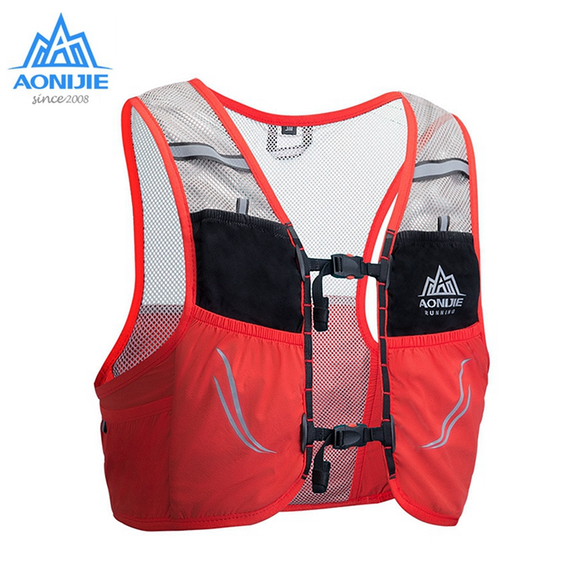 Aonijie Running Hydration Vest Backpack Breathable Lightweight Bladder Bags For Marathon Trail Running 2.5L C932