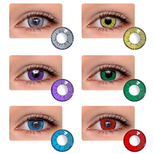 Contact Lenses Popular Natural European And American Style Large And Small Diameter  Mrs.H-Devil