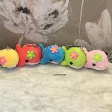 5 цветов-Большой 13 см Дельфин плюшевая игрушка кукла; чучела брелок Подвеска плюшевая игрушка