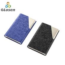 купить Business Card Holder Stainless Steel Aluminium Metal Case Box Men Business Credit Card&ID Holder Case Cover Women Card Case дешево
