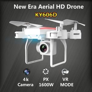Image 3 - KY606D Drone 4K Rc helikopter Drones kamera ile HD uzun uçan zaman RC GPS Drone wifi FPV Quadcopter katlanabilir oyuncak