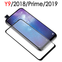 protective glass for huawei y9 2018 Prime 2019 Screen Protector hawei huawi Y 9
