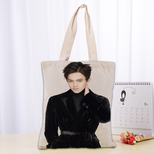 New Dimash Canvas Tote Bag Fashion Durable Women Student Cot