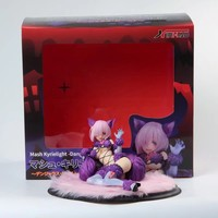 GZTZMY Fate Grand Order Mash Kyrielight cat girl Dangerous Beast PVC Action Figure Anime Figure Model Toys Sexy Girl Collection