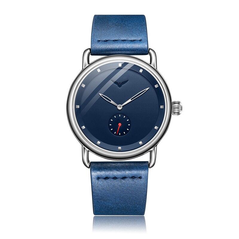 Casual watch men brand ONOLA quartz wristwatch simple waterpoor leather man watch Luxury watches 13