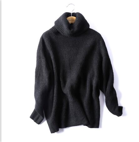 Women's Large Size Daily Knitted Turtleneck Sweater Women Solid Color Turtleneck Collar Warm Sweaters 2013 Arrival