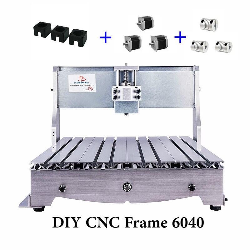 CNC Cadre 6040 3 axes Pour Mini bricolage CNC Routeur Graveur perceuse et Fraiseuse