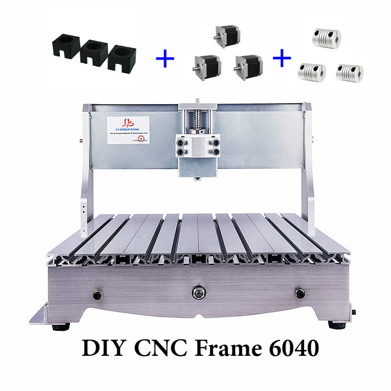 CNC Frame 6040 3aixs For Mini DIY CNC Router Engraver Drilling And Milling Machine