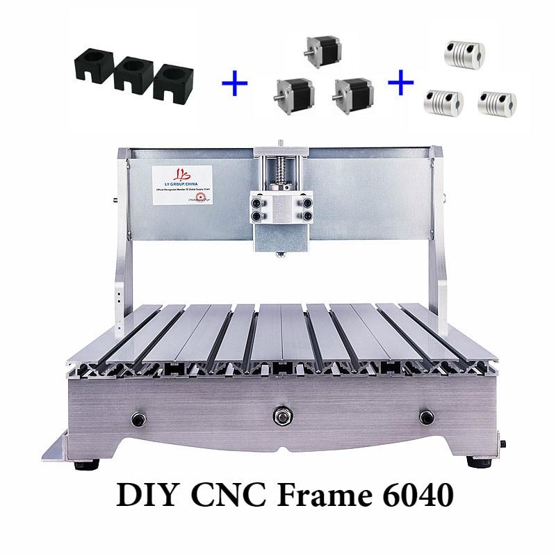 Mini CNC Frame 6040 3aixs 4aixs For DIY CNC Router Engraver Milling Machine