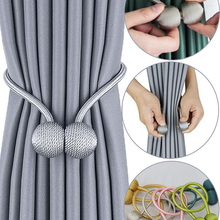 Curtain-Tieback Holder Hook Buckle-Clip Decorative Home-Accessorie Magnetic 1pc BELAVENIR