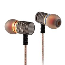 KZ EDR1/ED2 auriculares intrauditivos con cancelación de ruido, auriculares HiFi de Metal para fiebre y graves pesados con micrófono, para fone de ouvido ed16/ed9