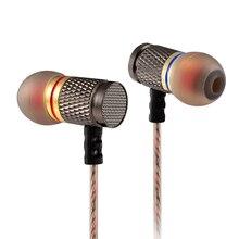 سماعات أذن KZ EDR1/ED2 في الأذن مع خاصية إلغاء الضوضاء سماعات أذن معدنية عالية النقاء مع ميكروفون fone de ouvido ed16/ed9