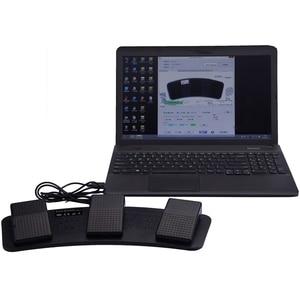 Image 5 - Fs3 P Usb тройной Ножной Переключатель педаль управления клавиатура мышь 3 педали имитировать любой ключ на клавиатуре комбинации ключ Hid Usb переключатель