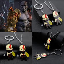 Cool Caroon Anime Game Gold of War Kratos Metal Enamal Necklaces Jewelry Gift For Friends Fans джемпер caroon