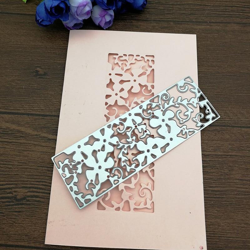 lace Design Metal Cutting Dies For DIY Scrapbooking Card Paper Album U