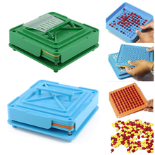 100 Holes Capsule Filling Machine Flate Tool ABS Board Durable Food Grade Manual DIY Powder Fast Encapsulator Pharmaceutical
