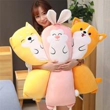 купить Super Soft Corji&Shiba Inu Plush Toy Cute Cartoon Animal Rabbit Stuffed Doll Bed Sofa Nap Pillow Cushion Lovers Valentine's Gift недорого